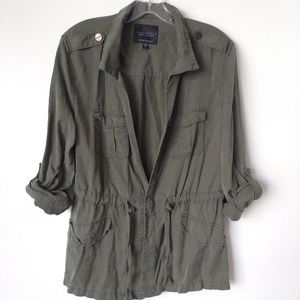 Sanctuary Anthropologie military jacket size M